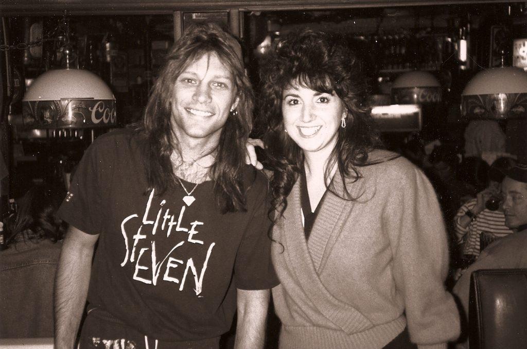 Taylor Van Arsdale and Jon Bon Jovi