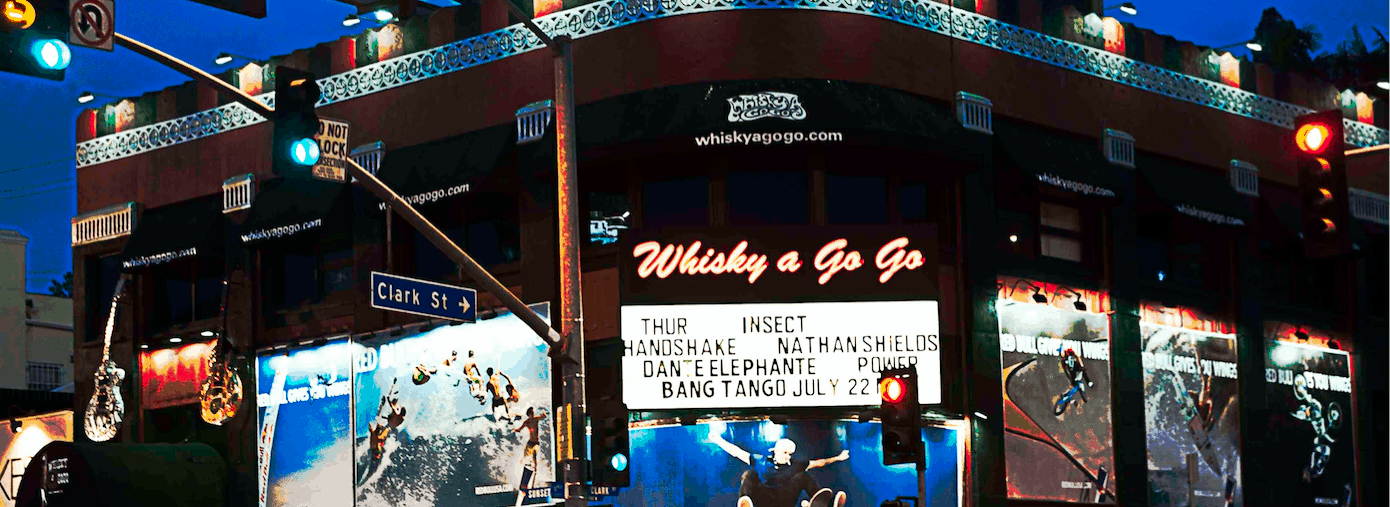 The World Famous Whisky a Go Go Photo by Chi Lee